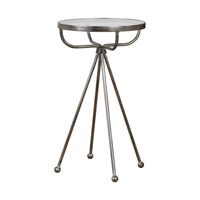Uttermost Santee Accent Table in Silver Accent 24692