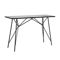 Reznor 51 X 16 inch Patina Steel Console Table Home Decor