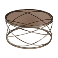 Uttermost Marella Coffee Table in Silver Iron 24697