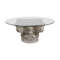 Corinthian 24 inch Aged Stone Accent Table Home Decor