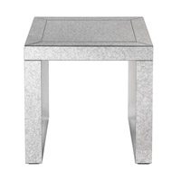 Uttermost 24709 Nora 23 inch End Table Home Decor Mirrored Grace Feyock