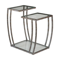 Uttermost 24722 Teeranie 26 X 24 inch Burnished Silver End Table, Matthew Williams 24722-A.jpg thumb