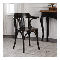 Huck Oak Accent Chair Home Decor