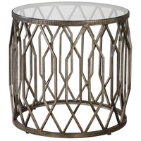Algoma 23 inch Aged Bronze with Metallic Silver Accent Table Home Decor
