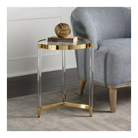 Kellen 16 inch Stainless Steel End Table Home Decor