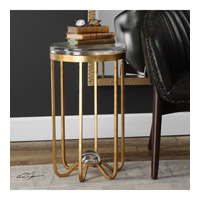 Allura 14 inch Forged Iron End Table Home Decor