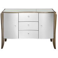 Kiley 48 inch Mirrored with Warm Champagne Birch Buffet