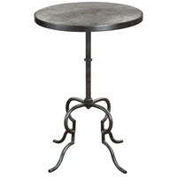 Uttermost 24795 Janine 26 X 18 inch Aged Black Accent Table