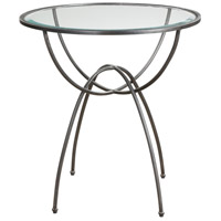 Renault 26 inch Aged Steel Lamp Table Portable Light