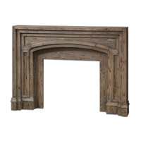 Uttermost Avrigo Fireplace Mantel 24801