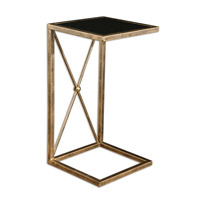 Zafina 13 X 13 inch Gold Side Table Home Decor