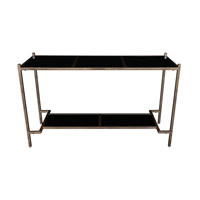 Karol 50 inch Black Console Table Home Decor