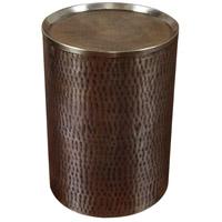 Uttermost 25038 Halian 15 inch Golden Antique Bronze Accent Table Home Decor