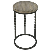 Uttermost 25320 Tauret 23 X 20 inch Textured Aged Steel and Weathered Ivory Side Table 25320_A1.jpg thumb