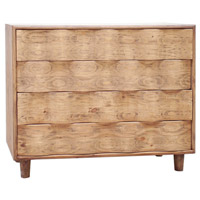 Uttermost 25337 Crawford Light Oak Accent Chest