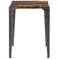 Uttermost 25411 Mira 24 X 19 inch Acacia Wood with Smooth Black Resin and Aged Steel Side Table 25411_A.jpg thumb