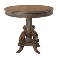 Uttermost Anya Round Table in Plantation Grown Mango Wood 25508
