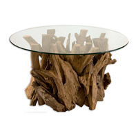 Uttermost Driftwood Cocktail Table in Natural Unfinished Teak Driftwood 25519