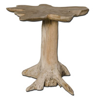 Uttermost Quito Accent Table in Natural Teak Wood 25569