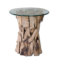 Uttermost 25583 Teak Root 26 X 24 inch Unfinished Teak Side Table photo thumbnail