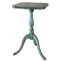 Uttermost Valent Blue Accent Table in Robins Egg Blue 25586