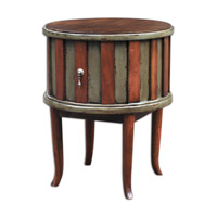 Uttermost Crosetta Drum Table 25591