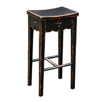 Uttermost Dalit Barstool in Black 25625