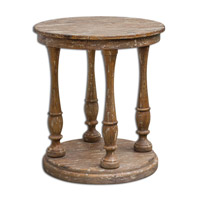 Uttermost Bardeau Accent Table in Weathered 25628