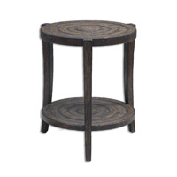Pias 24 X 24 inch Rustic Accent Table Home Decor