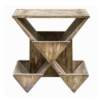 Enzo 26 X 19 inch Mango Wood Accent Table Home Decor