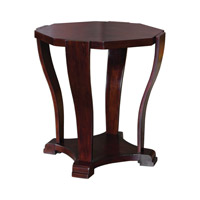 Uttermost Pallavi Accent Table in Dark Hickory 25732