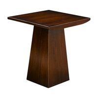 Uttermost Everton End Table in Honey Mahogany 25743