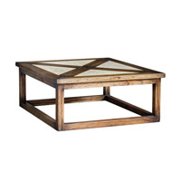 Akono 42 inch Honey Coffee Table Home Decor, Billy Moon