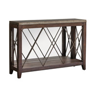 Delancey 50 inch Iron Console Table Home Decor, Matthew Williams