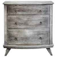 Jacoby Burnished Driftwood and Antique Bronze Accent Chest