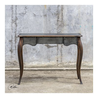 Roarke 42 inch Rubbed Honey Stain Console Table Home Decor