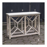 Catali 48 inch Natural Ivory Stone Console Table Home Decor