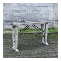 Chanler 52 inch Distressed Driftwood Console Table Home Decor