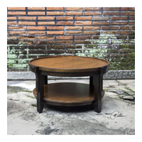 Sigmon 37 inch Hand Rubbed Black Coffee Table Home Decor