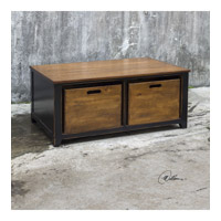 Ardusin 42 inch Worn Black Hobby Table Home Decor