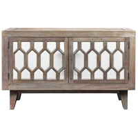 Oliver Light Oatmeal Stain and White Media Console