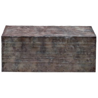 Breck 42 X 17 inch Natural Steel Coffee Table