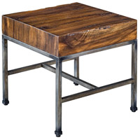 Uttermost 25848 Delsin 19 X 18 inch Wood Slab End Table