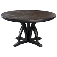 Uttermost 25861 Maiva 56 X 30 inch Black Dining Table