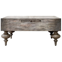 Uttermost 25878 Nikita 38 X 18 inch Aged Driftwood Gray Coffee Table thumb