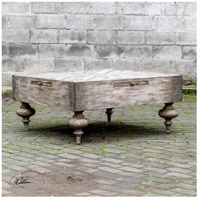 Uttermost 25878 Nikita 38 X 18 inch Aged Driftwood Gray Coffee Table 25878_Lifestyle.jpg thumb