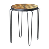 Stelios 20 X 20 inch Honey Stain Accent Table Home Decor