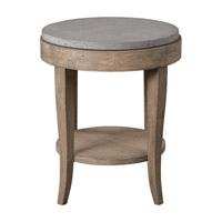 Uttermost Deka Accent Table in Brown Glaze 25909