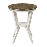 Uttermost Delino Side Table in Warm Brown 25915