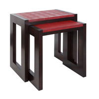 Onni 24 X 16 inch Acacia Wood Nesting Table Home Decor